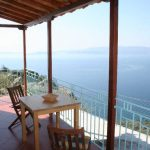 Sea view from Clifftop Cottage to Skiathos Island