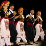 Every summer there is a large festival of traditional Greek dance