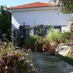 Old Wine Store holiday cottage front in Glossa, Skopelos, Greece