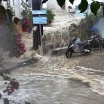 As the Louki is the junction of four streets, it can become a torrent in extreme conditions