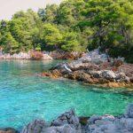 Hidden secret coves to explore near Glossa, Skopelos