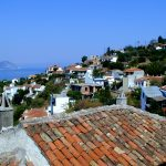 Traditional Greek village of Glossa